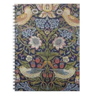 Diseño 1883 del ladrón de la fresa de William Cuaderno