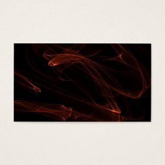 Diseño 3 de las tarjetas de visita de la llama