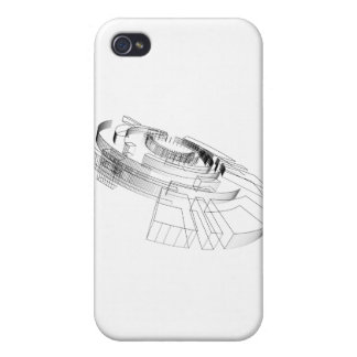 diseño 3d iPhone 4/4S carcasas
