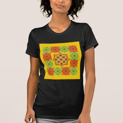 Diseño 8 del remiendo camisetas