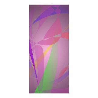 Diseño abstracto apacible gris púrpura tarjetas publicitarias personalizadas