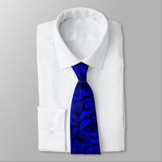 Diseño abstracto azul A202 y negro rico Corbatas