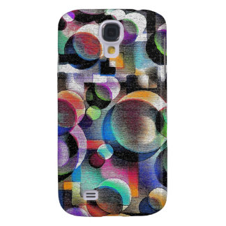 Diseño abstracto colorido con cada forma funda para galaxy s4