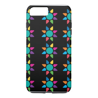 Diseño abstracto colorido de Iphone Funda iPhone 7 Plus