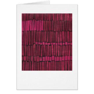 Diseño abstracto colorido magenta tarjeta