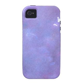 Diseño abstracto de la pintura original vibe iPhone 4 carcasa