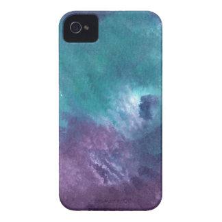 Diseño abstracto de la pintura original iPhone 4 protectores