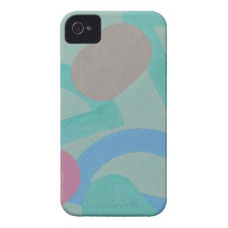 Diseño abstracto de la pintura original Case-Mate iPhone 4 protector