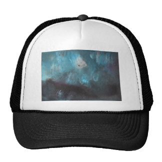 Diseño abstracto de la pintura original gorras