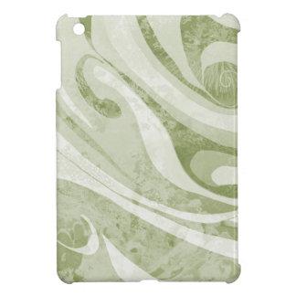 Diseño abstracto de las ondas verdes