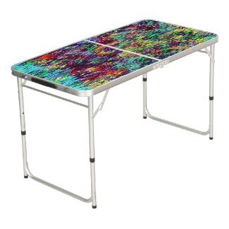 Diseño abstracto de los zigzags mesa de pong