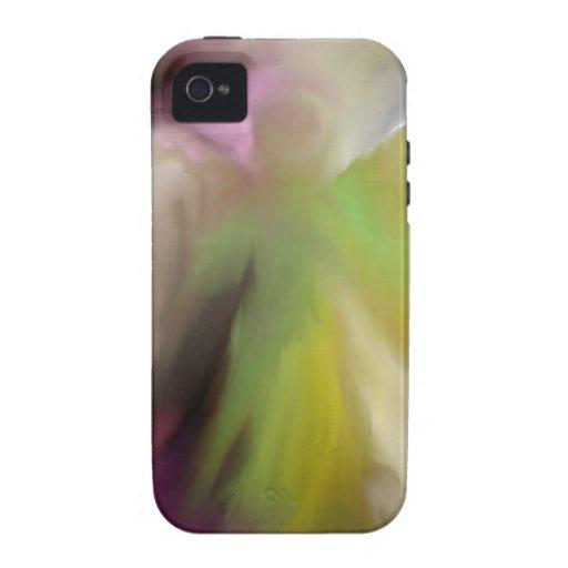 Diseño abstracto del ángel iPhone 4/4S carcasa