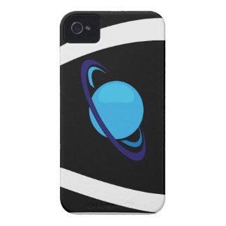 Diseño abstracto del planeta iPhone 4 Case-Mate carcasa