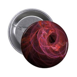 Diseño abstracto del remolino chapa redonda de 5 cm