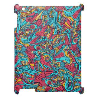 Diseño abstracto dibujado mano colorida del modelo