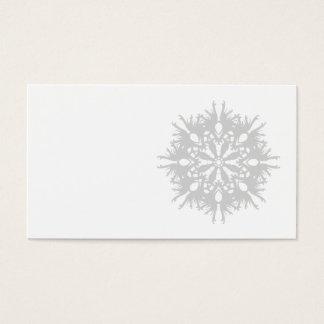 Diseño abstracto en gris claro tarjeta de negocios