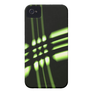 Diseño abstracto iPhone 4 Case-Mate protector