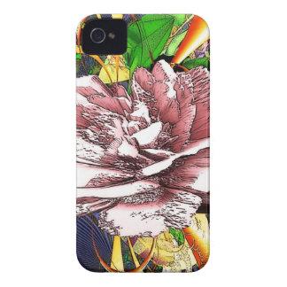 Diseño abstracto iPhone 4 Case-Mate cárcasas