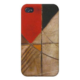 Diseño abstracto iPhone 4 fundas