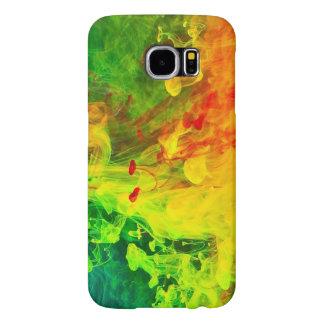 Diseño abstracto funda samsung galaxy s6