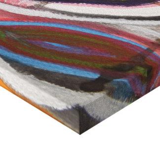 Diseño abstracto impresión en lienzo