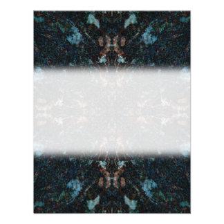 Diseño abstracto oscuro con algunos bordes suaves anuncio personalizado