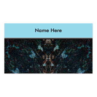 Diseño abstracto oscuro con algunos bordes suaves tarjetas de visita