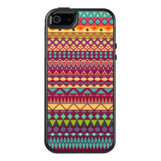 Diseño abstracto rayado tribal del modelo funda otterbox para iPhone 5/5s/SE