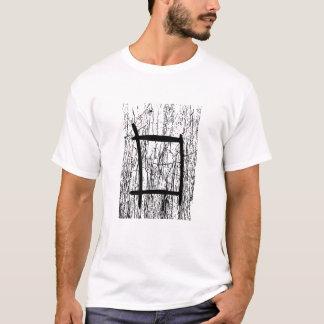 Diseño abstracto texturizado camiseta