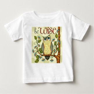 Diseño adaptable del búho sabio de IMG_7786.PNG Camiseta De Bebé