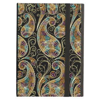 Diseño adornado de Paisley del vintage colorido