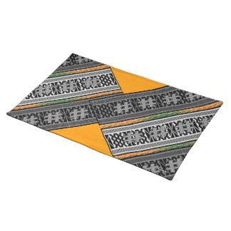 Diseño africano contemporáneo manteles