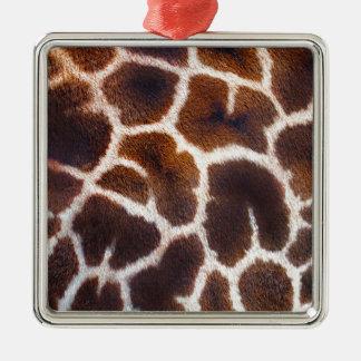 Diseño africano de la foto de la piel de la jirafa ornamentos de reyes magos