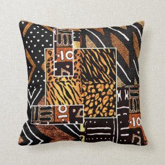 Diseño africano tribal cojín decorativo