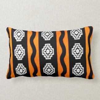 Diseño africano urbano almohada