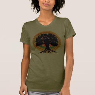 Diseño ambiental de la camiseta
