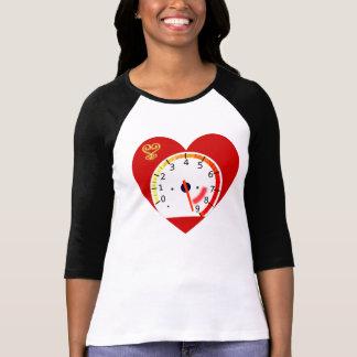 Diseño-Amor Camisetas-Africano largo de la manga T Camiseta