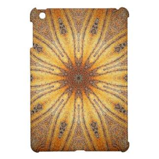 Diseño antiguo de la mandala del oro brillante