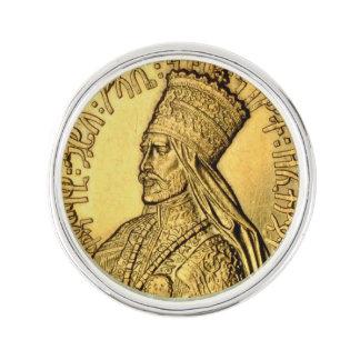 Diseño antiguo del oro del Pin de la solapa de