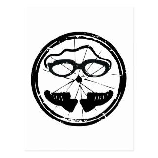 Diseño artístico fresco del Triathlon Postal