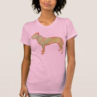 Diseño artístico y caprichoso de Pitbull/AmStaff Camisetas