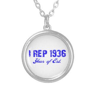 diseño bithday 70 collar