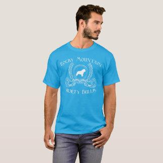 Diseño blanco de la camiseta de los toros de