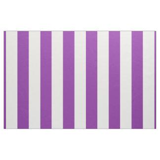 Diseño blanco púrpura de las rayas tela