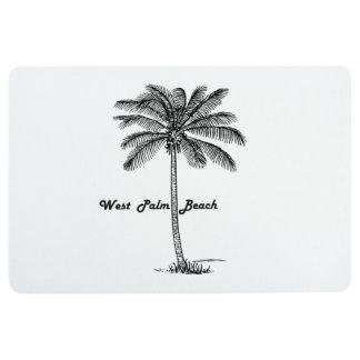 Diseño blanco y negro de West Palm Beach y de la Alfombra