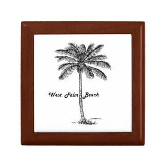 Diseño blanco y negro de West Palm Beach y de la Joyero