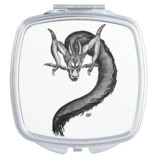 Espejos compactos dragones chinos - Espejo de viaje ...
