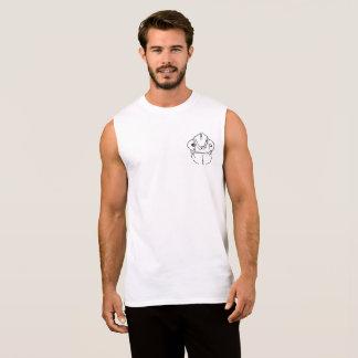 Diseño bolsillo torpe del gráfico del camaleón camiseta sin mangas
