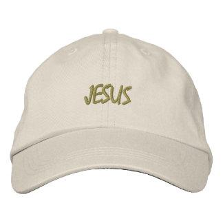 DISEÑO BORDADO PERSONALIZADO JESÚS DE LOS GORRAS