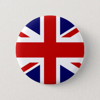 Diseño británico del botón el | Union Jack del
